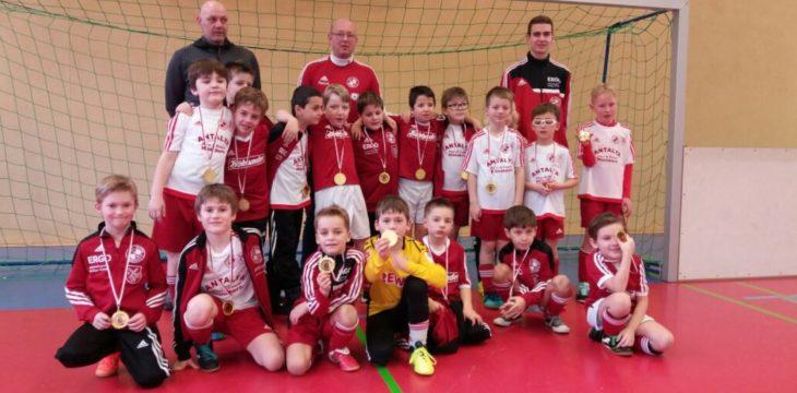 F-Jugend beim Gemeindepokal