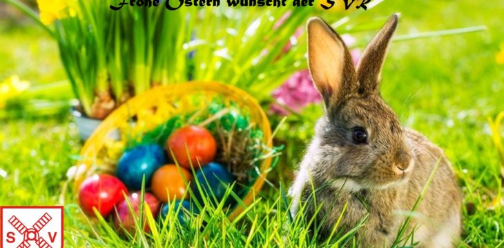 Frohe Ostern wünscht der SVR
