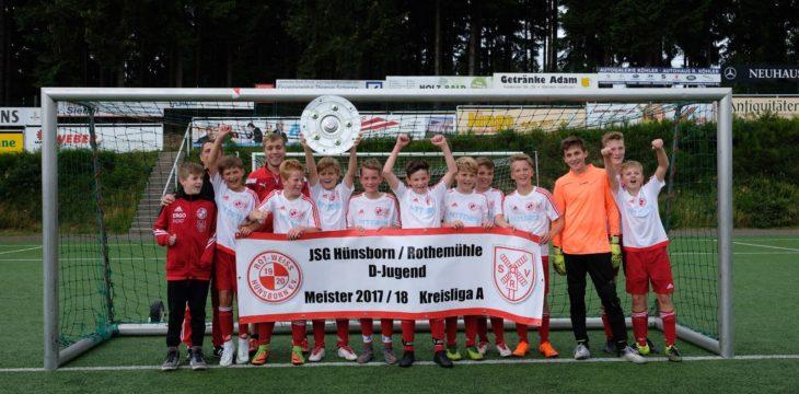 D1-Jugend holt den Meistertitel!