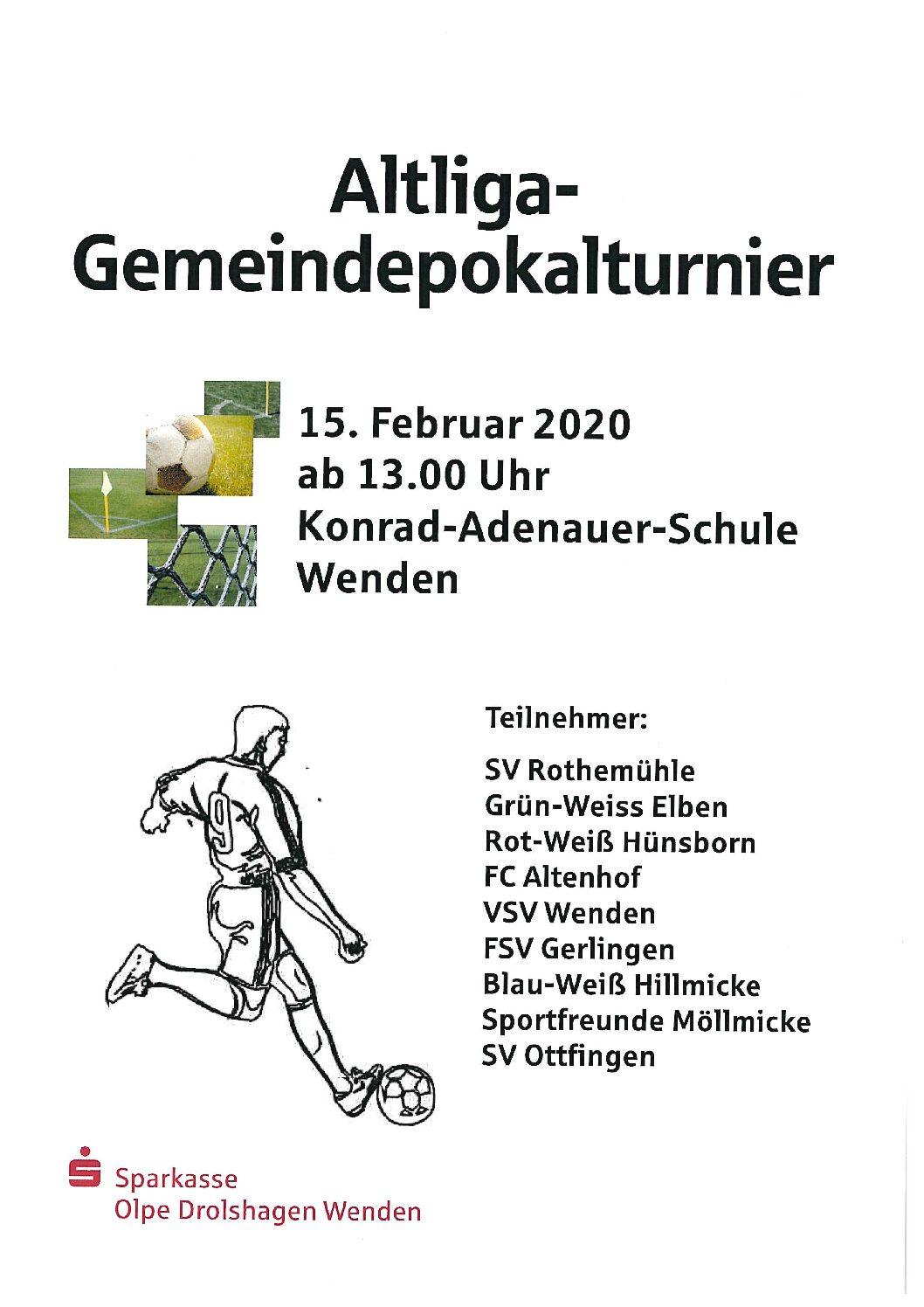 Altliga-Gemeindepokalturnier 2020