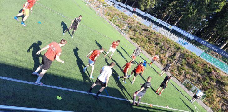 Trainingslager und ansprechendes Testspiel!